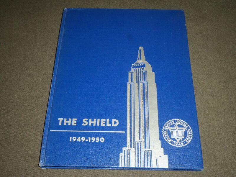 1949-1950 THE SHIELD WALTER HERVEY JUNIOR COLLEGE YEARBOOK - NEW YORK - YB 1145