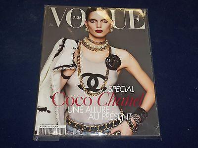 2009 MARCH VOGUE PARIS MAGAZINE - IRIS STRUBEGGER - FRENCH FASHION - O 5403