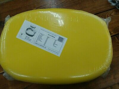 Yellow Replacement Seat Cushion For Combines Cotton Pickers - John Deere