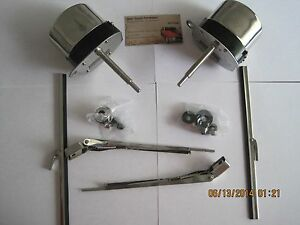 Street rod vintage ford chevy dodge jeep custom car for Windshield wiper motor kit