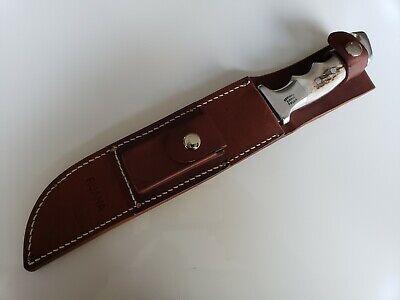 "Rare Ruana 27AC 9"" Custom Finn Camper 1983 Fixed Blade Knife"