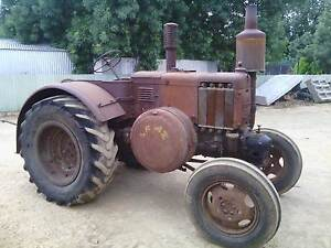 Lanz Bulldog hot bulb vintage tractor 1950 P model. Forbes Forbes Area Preview