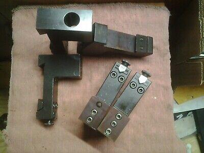 Hardinge Conquest Gt Hg-5 Round Shank 34 Tool Holder Cnc Gang Lathe Gt-27