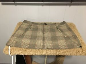 Plaid Guess skirt