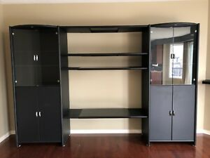 In wall tv unit with storage