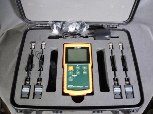 Excellent Extech Handheld VB500  4-Channel Vibration Meter/Datalogger, 4 Sensors