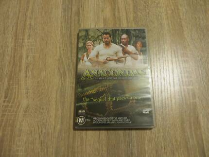 Anacondas - The Hunt for the Blood Orchid - Region 4 DVD