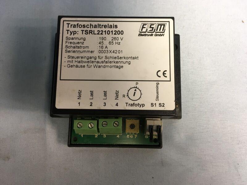 NEW FSM TSRL22101200 Transformator Switching Relay TSRL