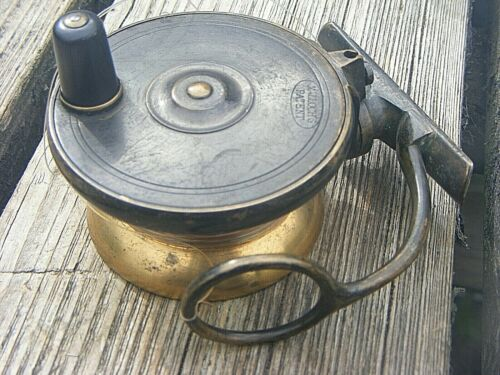 """ANTIQUE  MALLOCHS REEL 3.25""""  INCHES"""