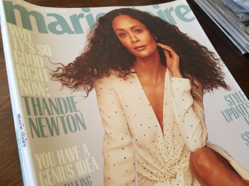 VGC 8 issues Marie Claire magazine lot 2019