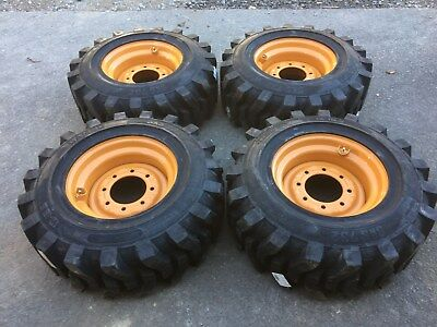 4-12-16.5 Hd Skid Steer Tireswheelsrims For Case-12x16.5-solideal Sks 732