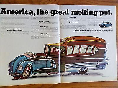1968 Austin America Car Ad The Great Melting Pot