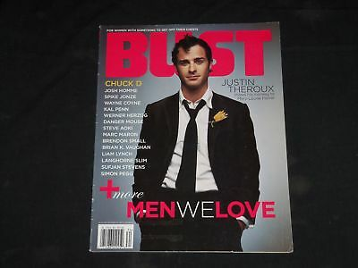 2005 August September Bust Magazine   Justin Theroux Cover   B 389