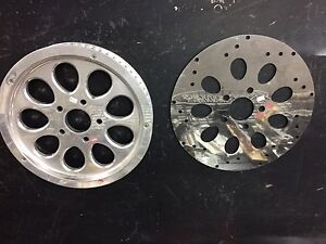 Fat boy Harley Davidson billet rear sprocket &prototype NEW!