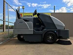 Nilfisk SW8000 LPG Ride on sweeper curent model ultra low hrs Para Hills West Salisbury Area Preview