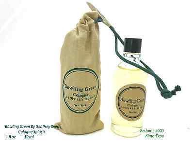 Old Version Geoffrey Beene Bowling Green Mens Cologne Splash 1 Oz New In Pouch