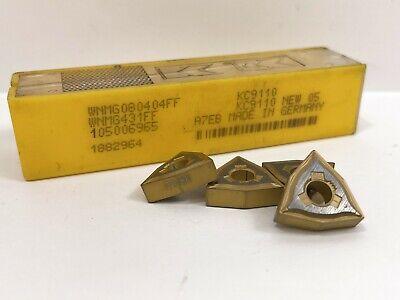Kennametal Wnmg431ff Wnmg080404ff New Carbide Inserts Grade Kc9110 4pcs
