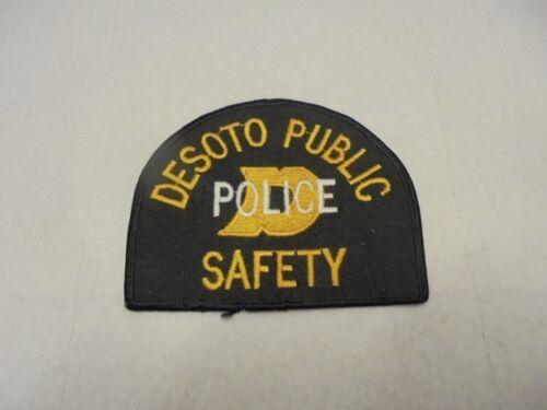 cloth patch desoto public safety police iowa