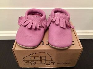 Minimoc baby leather moccasins