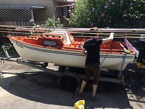 Cal 14 - Excellent boat, trailer and outboard North Melbourne Melbourne City Preview