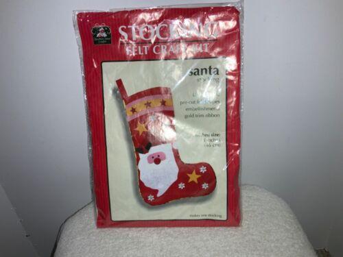 Christmas Stocking Felt Craft Kit