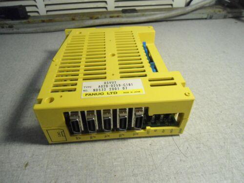 Fanuc A02B-0259-C181 Interface Module ASVU2