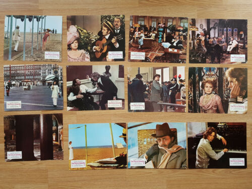 DEATH IN VENICE Luchino Visconti  rare set of 12 German lobby cards DIRK BOGARDE