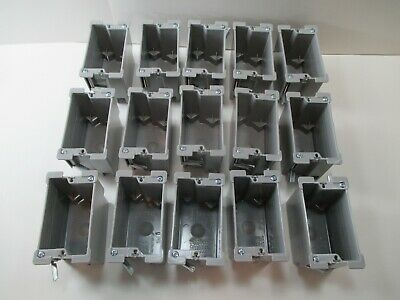 15-pc. Legrand-slater 1-gang 18.0 Cu. In. Old Work Electrical Switchoutlet Box