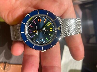 Breitling Superocean Heritage '57 Wristwatch A103702A1C1A1 Limited II Blue
