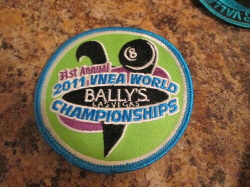 VNEA Valley National 8 Ball Pool League International Championship Patch 2011