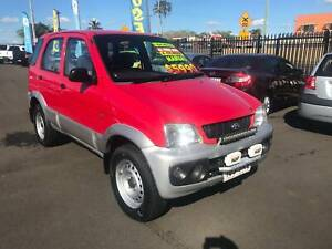 2002 daihatsu terios dx awd suv Bundaberg West Bundaberg City Preview