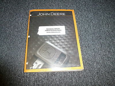 John Deere 350dlc 350 Dlc Excavator Shop Technical Repair Service Manual Tm2360