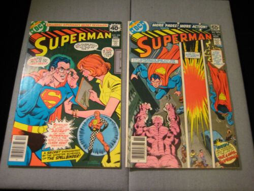 Superman #329 And #330 (1978, DC)