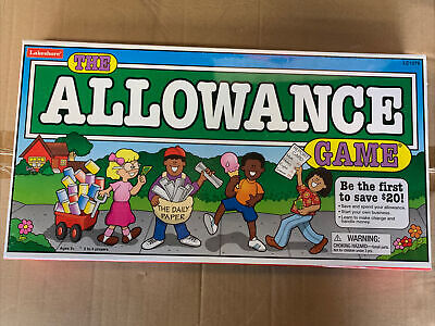 The Allowance Game by Lakeshore Learning - Board Game - BRAND NEW SEALED