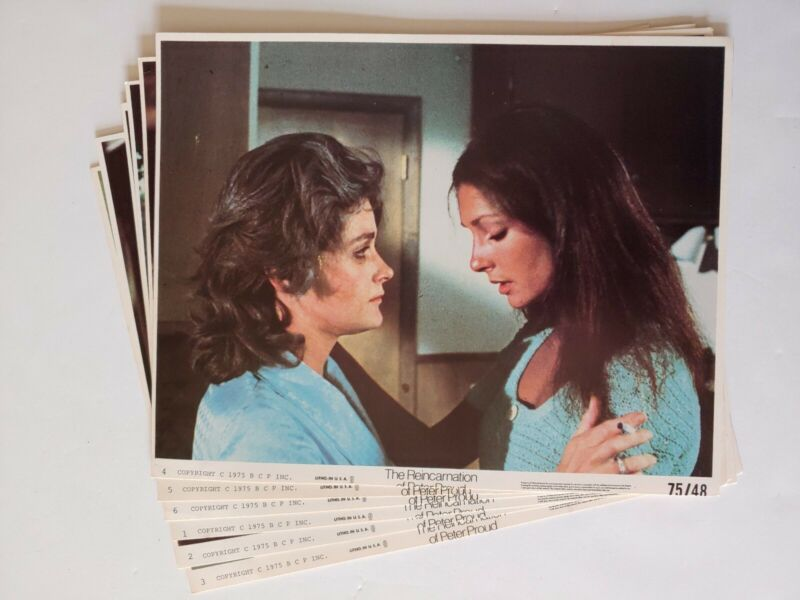 "Lobby Cards (6), Reincarnation Of Peter Proud, 1975, 8""×10""  1016"