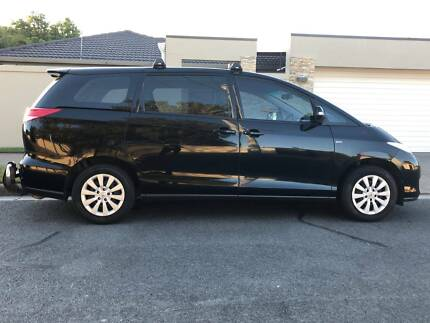 2012 Toyota Tarago 4 cyl LPG/Petrol Black Auto Imacculate condition Mermaid Waters Gold Coast City Preview