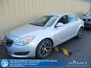 2017 Buick Regal SPORT TOURING 2.0T | LEATHER | POWER SEAT | HEA