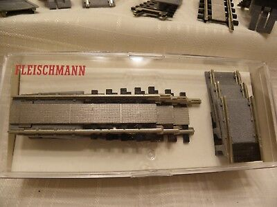 FLEISCHMANN #6653 / MARKLIN #7287 Turntable Extension Tracks (3) NEW IN BOX!