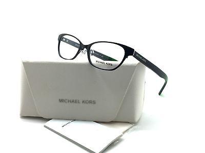 MICHAEL KORS 3014 1150 Sybil Eyeglasses Frames Glasses Matte Black  Green 50mm