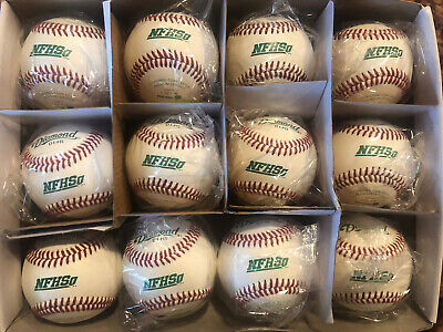 1 Dozen (12 Balls) Diamond D1-HS Official  Baseball NFHS NOCSAE High School