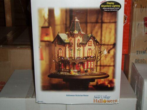 DEPT 56 Halloween Village HALLOWEEN VICTORIAN HOUSE *Excellent Store Display*