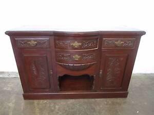 C43049 Lovely Antique Victorian Pine Sideboard Buffet Mount Barker Mount Barker Area Preview
