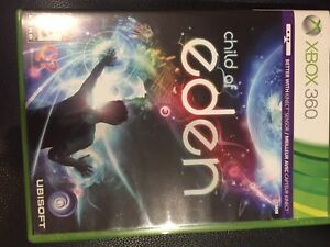 Xbox 360 Children of Eden for kinect (used)