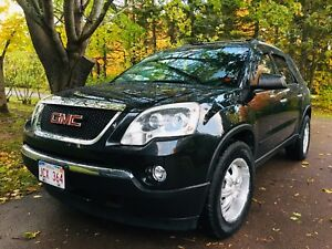 2012 GMC ACADIA AWD V6 115,000kms 149$ bi-weekly !  Remote Start