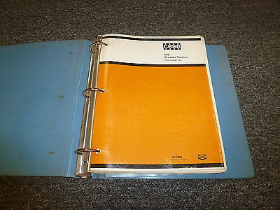 Case 350 Crawler Tractor Dozer Parts Catalog Manual Manual F1162