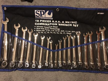 SP tool  18 piece  combinations wrench set Craigieburn Hume Area Preview