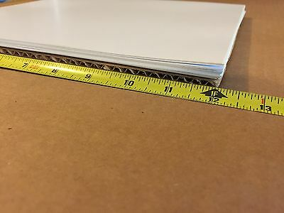 Lot Of 10 White Styrene Polystyrene Translucent Plastic Sheet .010 X 12 X 12