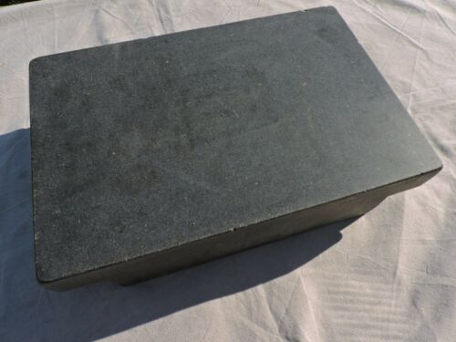 """GRANITE INSPECTION SURFACE PLATE 18"""" X 12"""" X 4"""" LABORATORY INDUSTRIAL LAB"""