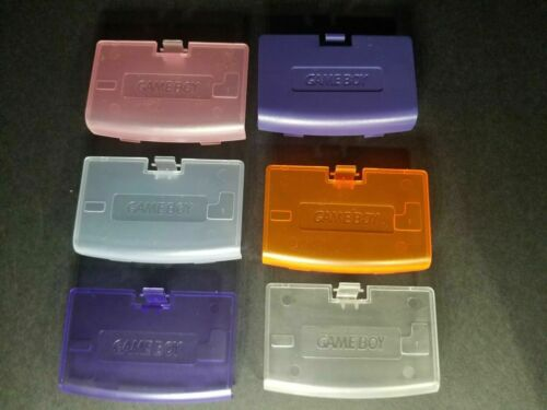 BRAND NEW REPLACEMENT BATTERY COVER FOR THE GAMEBOY ADVANCE SYSTEM WITH LOGO