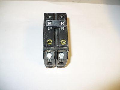 1 Pc. Challenger Csq-230 Circuit Breaker 2 Pole 30 Amp Used